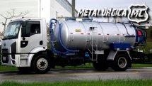 Tanque hidrojato média pressão