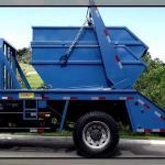 Caminhão poliguindaste simples